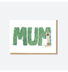 Gardening Mum Greeting Card