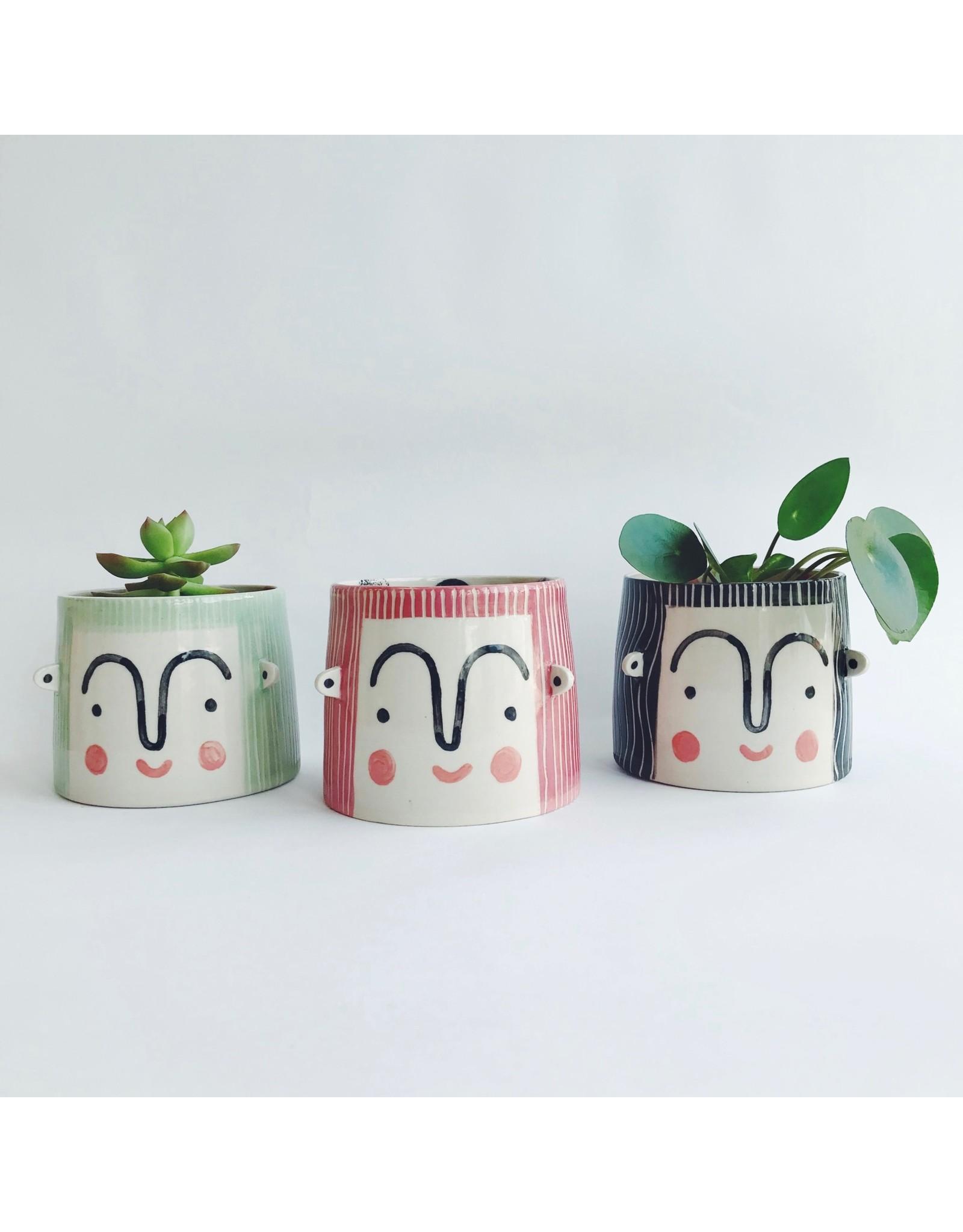Person Plant Pot