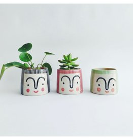 Small Person Plant Pot