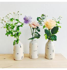 Monochrome Stoneware Vase