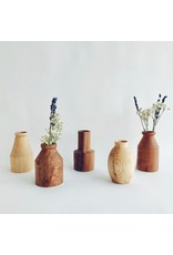 Wooden Dry Flower Vase