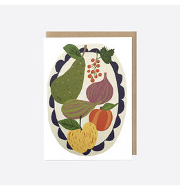 Fig Compote Greeting Card