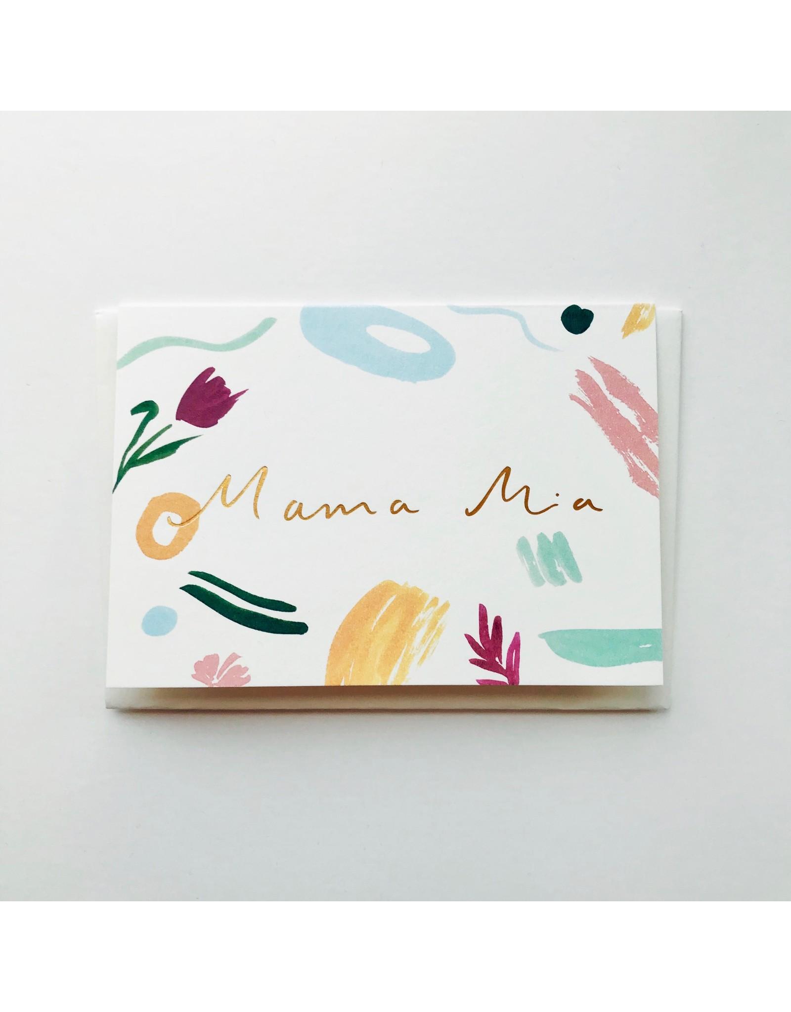 Mama Mia Greeting Card
