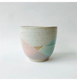 Stoneware Pot - Aqua