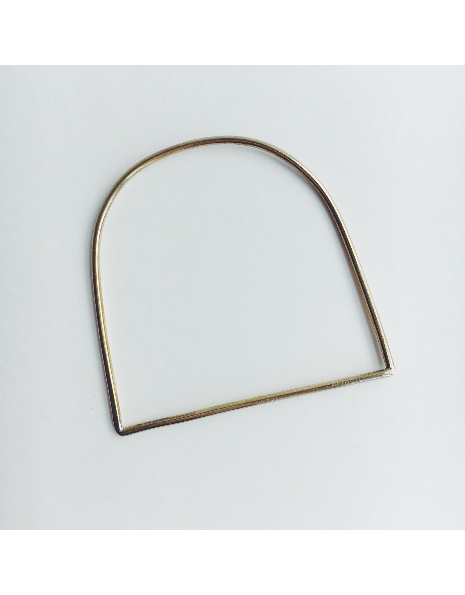 Minimal Brass Bangle