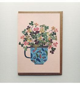 Wood Sorrel Greeting Card