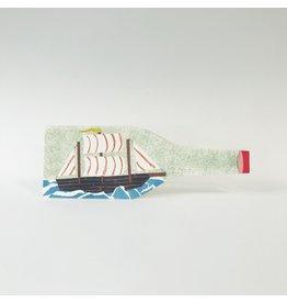 Ship In A Bottle Card