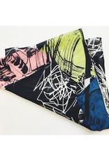Long Silk & Cotton Scarf - Fuji