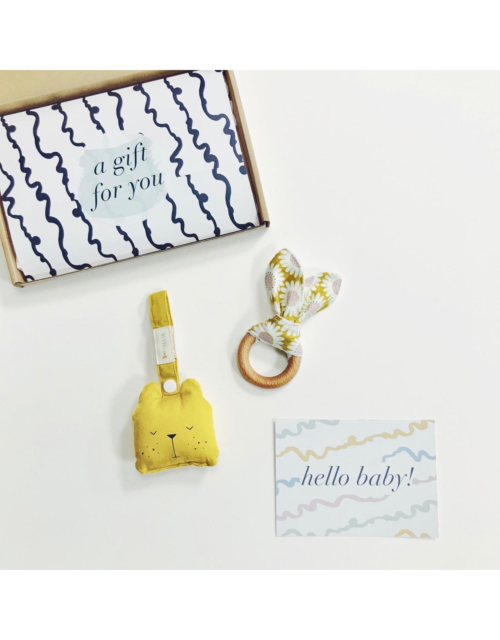 New Baby Gift Set - Happy