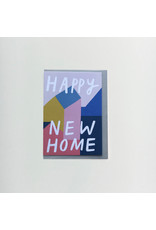 Abstract New Home Greeting Card
