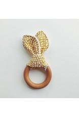 Bunny Ear Teething Ring