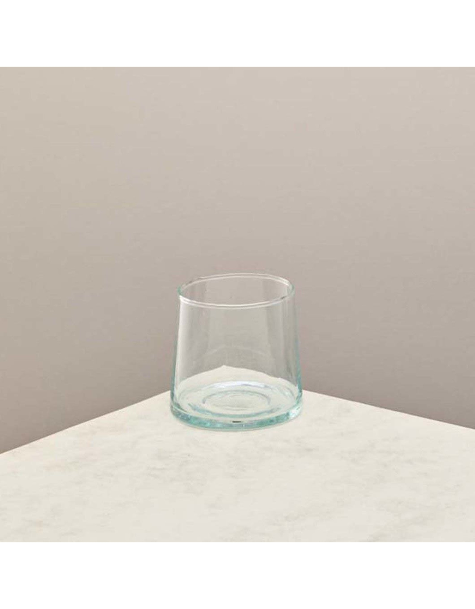 Recycled Small Glass Tumbler