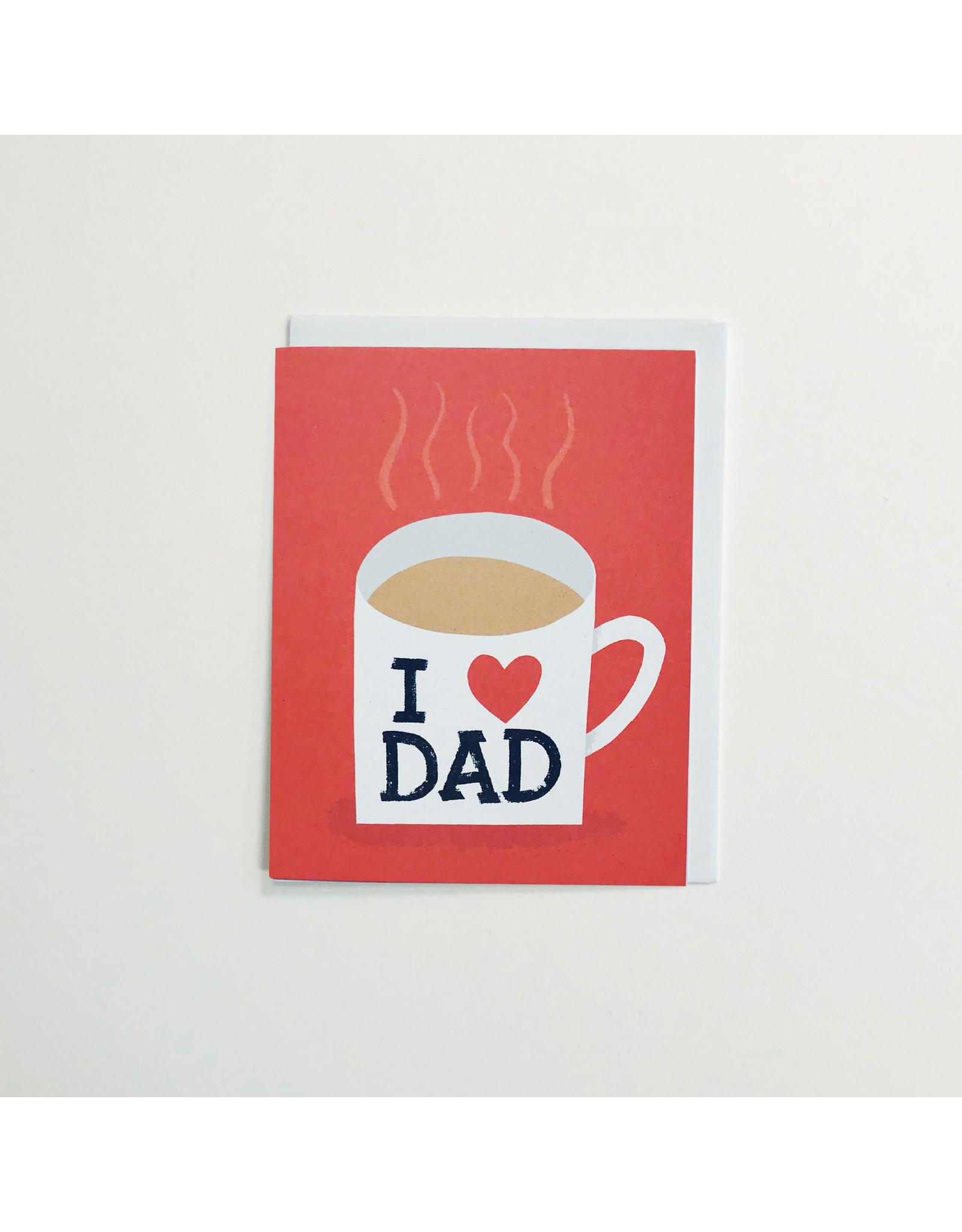 Dad Mug Greeting Card