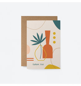 Thank You Card Vases