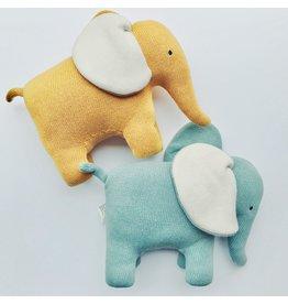 Large Organic Cotton Elephant Toy