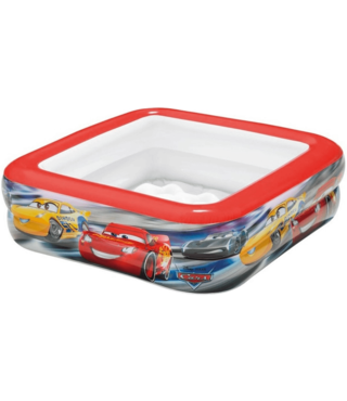 Intex Kinderzwembad Cars Rood - 85x85x23cm