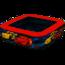 Intex  Intex Kinderzwembad Cars Rood - 85x85x23cm