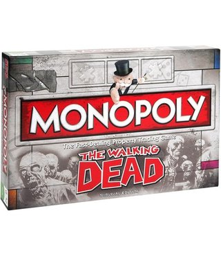 Monopoly The Walking Dead Survival Edition - Bordspel - Engelstalig