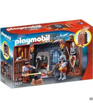 PLAYMOBIL Speelbox Ridder en Smid - 5637