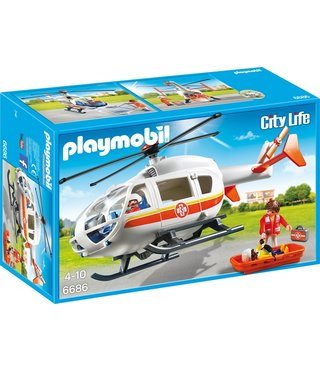 Playmobil Traumahelikopter - (6686)