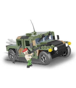 Cobi Small Army Humvee Groen - 24304