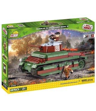 Cobi Small Army Somua S-35 Tank - 2493