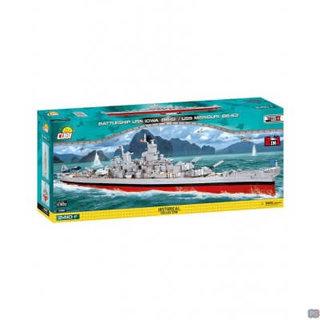 Cobi Historical Collection Battleship USS Iowa/Missouri - 4812