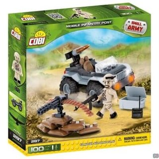 Cobi Small Army Mobile Firing Position - 2197