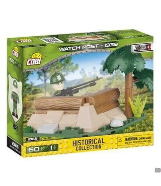 Cobi Small Army Wachtpost Poolse Leger - 2165