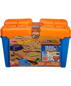 Hot Wheels Track Builder Stunt Box - Racebaan