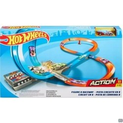 Hot Wheels Figure 8 Raceway - Racebaan inclusief Hot Wheels Voertuig