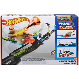 Hot Wheels Track Builder Blast Off Challenge - Racebaan