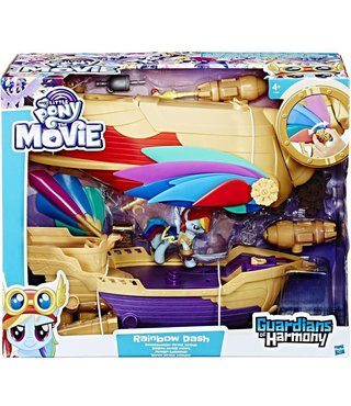 My Little Pony - Rainbow Dash Piraten-Luchtschip