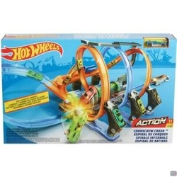 Hot Wheels - Kurkentrekker Crash - Racebaan