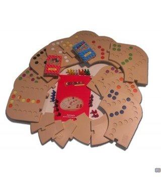 Keezbord Totaalbox Kunststof 8 personen - Keezenspel