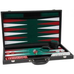 Backgammon zwart 18 Inch