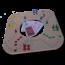 Keezbord Keezbord 4 persoons kunststof en tokkenspel