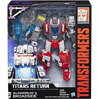 Transformers Blunderbuss & Broadside Robot