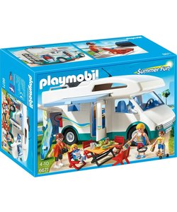 Playmobil Grote familie-camper - 6671