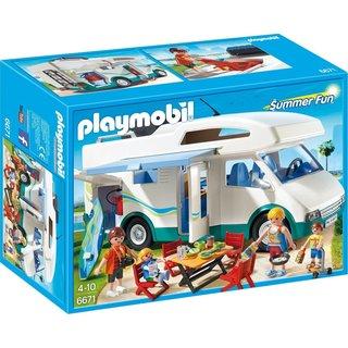 Playmobil Grote familie-camper - 6671