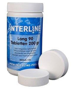 Interline Zwembad chloortabletten - 200 grams