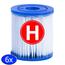 Intex Intex Filtercartridge Type H - 6 stuks