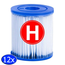 Intex Intex Filtercartridge Type H - 12 stuks