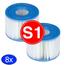 Intex Intex Voordeelpack - Filters voor de Intex Spa Type S1 8 stuks (Opblaas Jacuzzi 4x 2 pack )