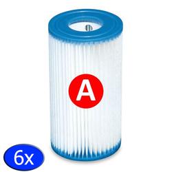 Intex Filtercartridge Type A - 6 stuks