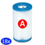 Intex  Intex Zwembad Filtercartridge Type A - 29000/59900 - 18 stuks
