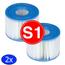 Intex Intex Voordeelpack - Filters voor de Intex Spa Type S1 2 stuks (Opblaas Jacuzzi 1 x 2pack)