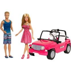 Barbie Auto met Ken & Barbie