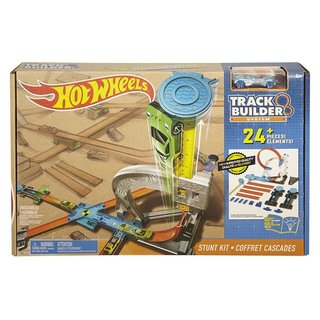 Hot Wheels Trackbuilder Stuntset - Racebaan