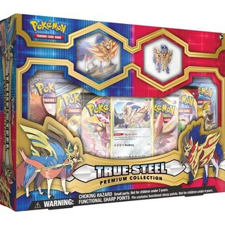 Pokémon True Steel Premium Figure & Pin Collection